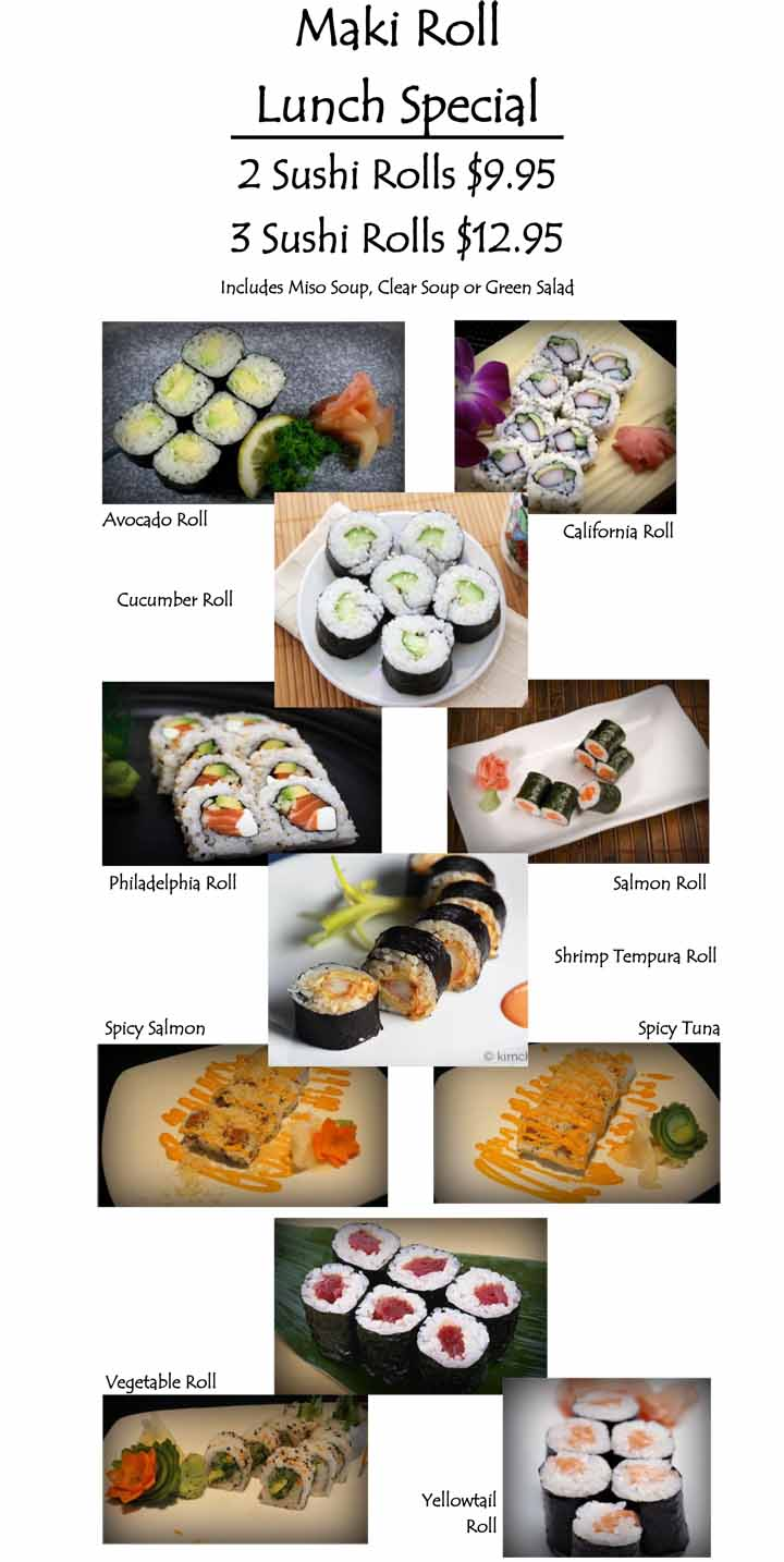 Bonzai New Braunfels Steak And Sushi Restaurant Menu